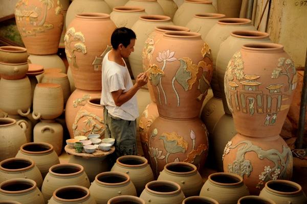Dòng gốm cổ kính lưu giữ cách thức làm gốm cổ xưa