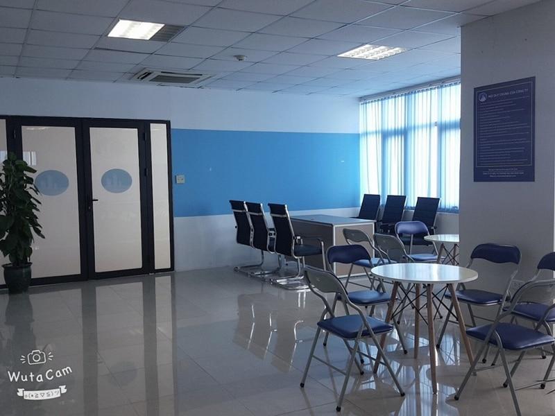 Văn phòng được Nhật Nam thiết kế theo không gian mở