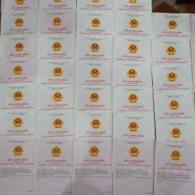 giấy chứng nhận quyền sở hữu đất công ty Nhật Nam
